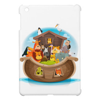 Noah's Ark With Jungle Animals iPad Mini Covers