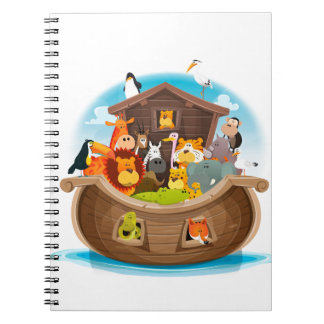 Noah's Ark With Jungle Animals Notebook