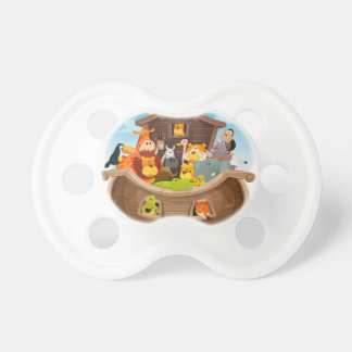 Noah's Ark With Jungle Animals Pacifier