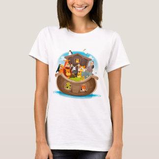 Noah's Ark With Jungle Animals T-Shirt
