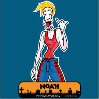 Noah's Sculpture - Skekletica.com - webcomic Photo Sculpture Magnet