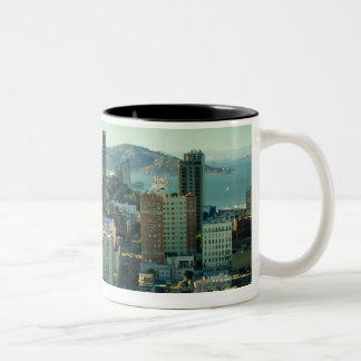 Nob Hill, San Francisco Two-Tone Coffee Mug