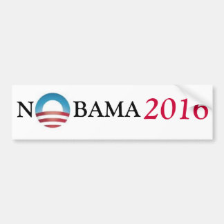NOBAMA 2016 BUMPER STICKER