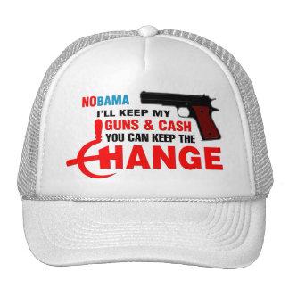 Nobama - Keep The Change! Hats