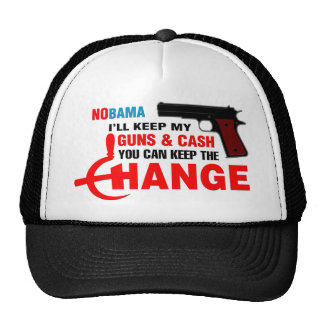 Nobama - Keep The Change! Trucker Hat