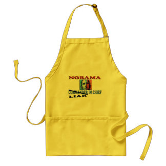 NOBAMA Liar In Chief Adult Apron