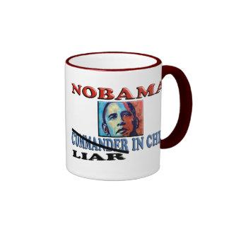 NOBAMA Liar In Chief Ringer Mug
