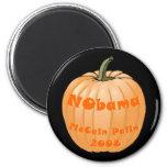 NObama McCain Palin 2008 Jack-o-lantern Halloween Fridge Magnets