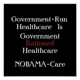 nobamacare poster