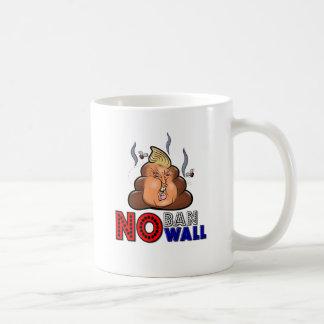 NoBanNoWall No Ban No Wall Protest Immigration Ban Coffee Mug