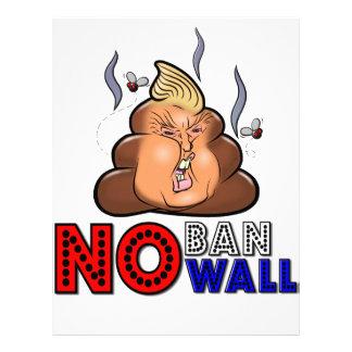 NoBanNoWall No Ban No Wall Protest Immigration Ban Letterhead