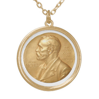 Nobel Peace Prize Necklace