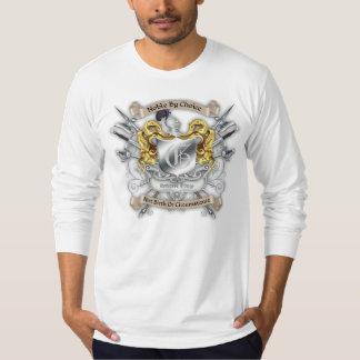 Noble by Choice Monogram Knights Sword Crest Long T-Shirt