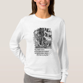 Noble holding, illustration 'Roman de Renart' T-Shirt