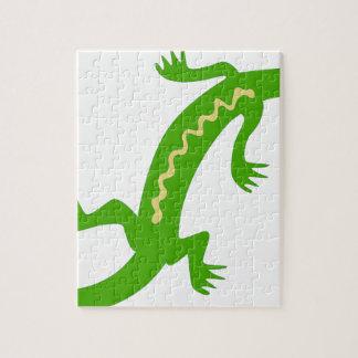 Noble Lizard Jigsaw Puzzle