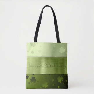Noble St. Patrick's Day Shamrocks - Tote Bag