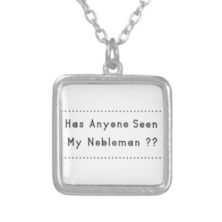 Nobleman Silver Plated Necklace