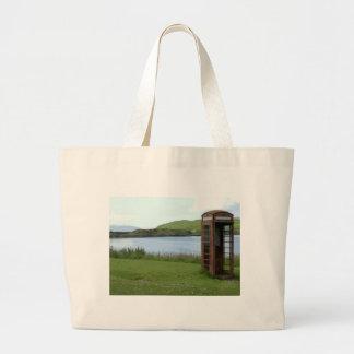 Nobody calls... jumbo tote bag