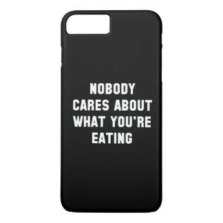 Nobody Cares iPhone 7 Plus Case