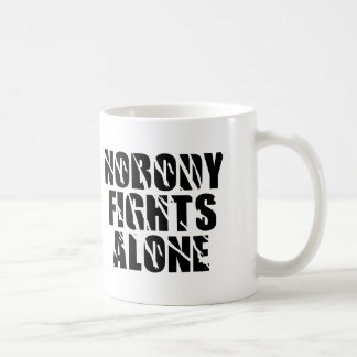 Nobody Fights Alone - Tag Team Coffee Mug