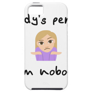 Nobody is Perfect - I'm Nobody iPhone 5 Cover