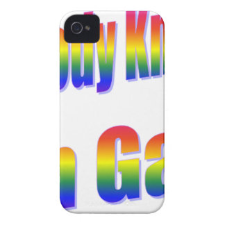 Nobody Knows I'm Gay Rainbow iPhone 4 Covers