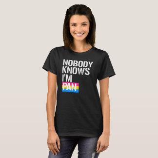 Nobody Knows I'm Pan - - LGBTQ Rights -  -  T-Shirt