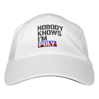 Nobody Knows I'm Poly - - LGBTQ Rights -  Hat