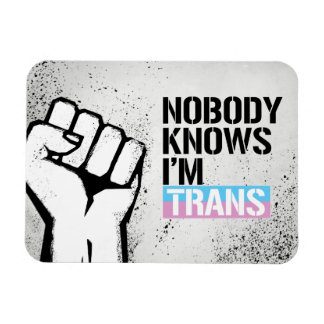 Nobody Knows I'm Trans - - LGBTQ Rights -  Magnet