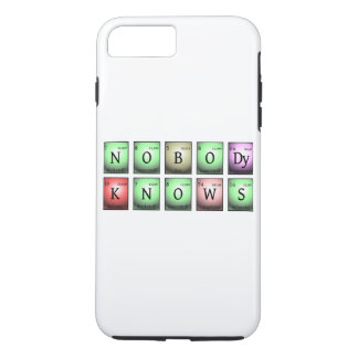 nobody knows in chemical elements Case-Mate iPhone case