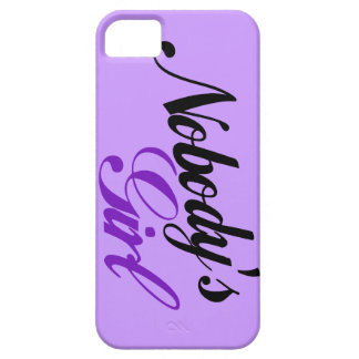 Nobody's Girl iPhone 5 Covers