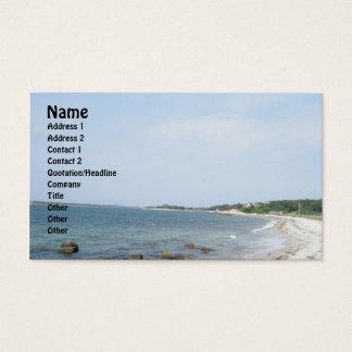 Nobska Beach Business Card