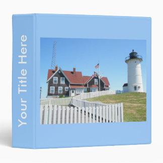 Nobska Lighthouse Cape Cod Massachusetts Binder