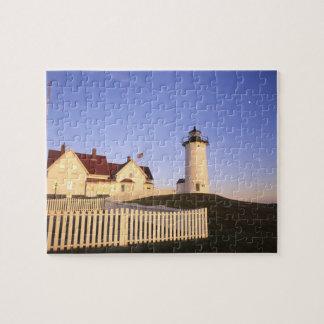 Nobska Lighthouse, Woods Hole, Massachusetts Jigsaw Puzzle