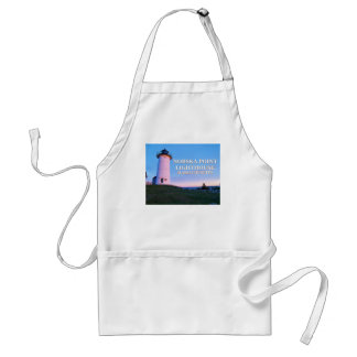 Nobska Point Lighthouse, Mass Cooking Apron