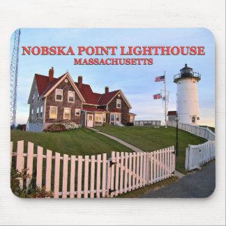 Nobska Point Lighthouse, Massachusetts Mousepad