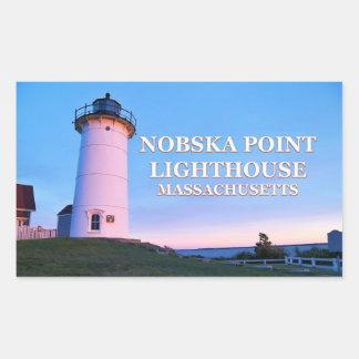Nobska Point Lighthouse, Massachusetts Stickers