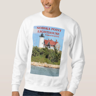 Nobska Point Lighthouse, Massachusetts Sweatshirt