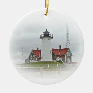 Nobska Point Lighthouse Ornament