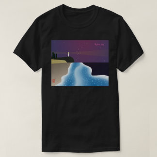 Noctilucence insect (blue version) T-Shirt