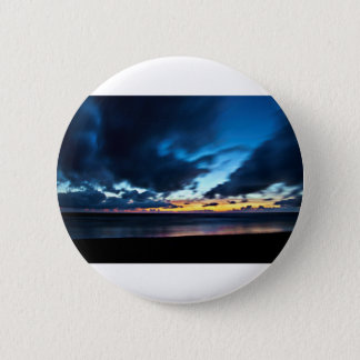 Nocturnal Cloud Spectacle on Danish Sky 2 Inch Round Button