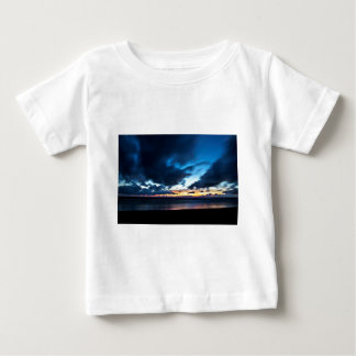 Nocturnal Cloud Spectacle on Danish Sky Baby T-Shirt