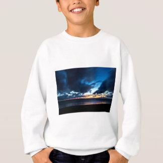 Nocturnal Cloud Spectacle on Danish Sky Sweatshirt
