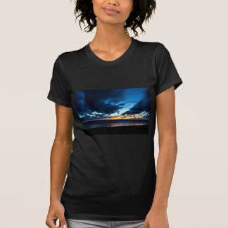 Nocturnal Cloud Spectacle on Danish Sky T-Shirt