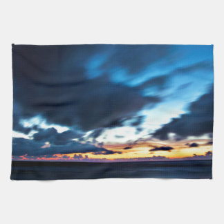 Nocturnal Cloud Spectacle on Danish Sky Towel