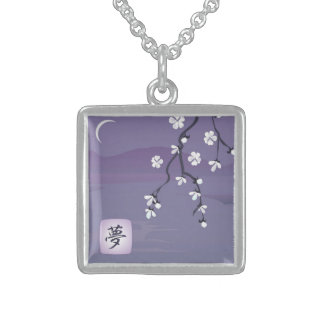 Nocturnal Dream Sterling Silver Necklace