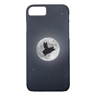 Nocturnal Flying Pig Case-Mate iPhone Case