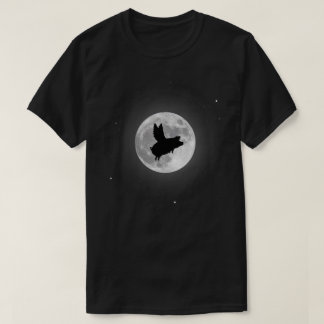 Nocturnal Flying Pig T-Shirt