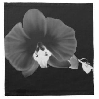 Nocturnal Orchid Napkin