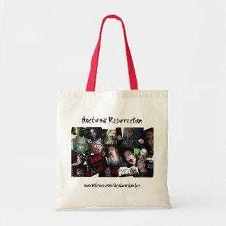 Nocturnal Resurrection - Noc Rez Montage- Zomb... Tote Bag